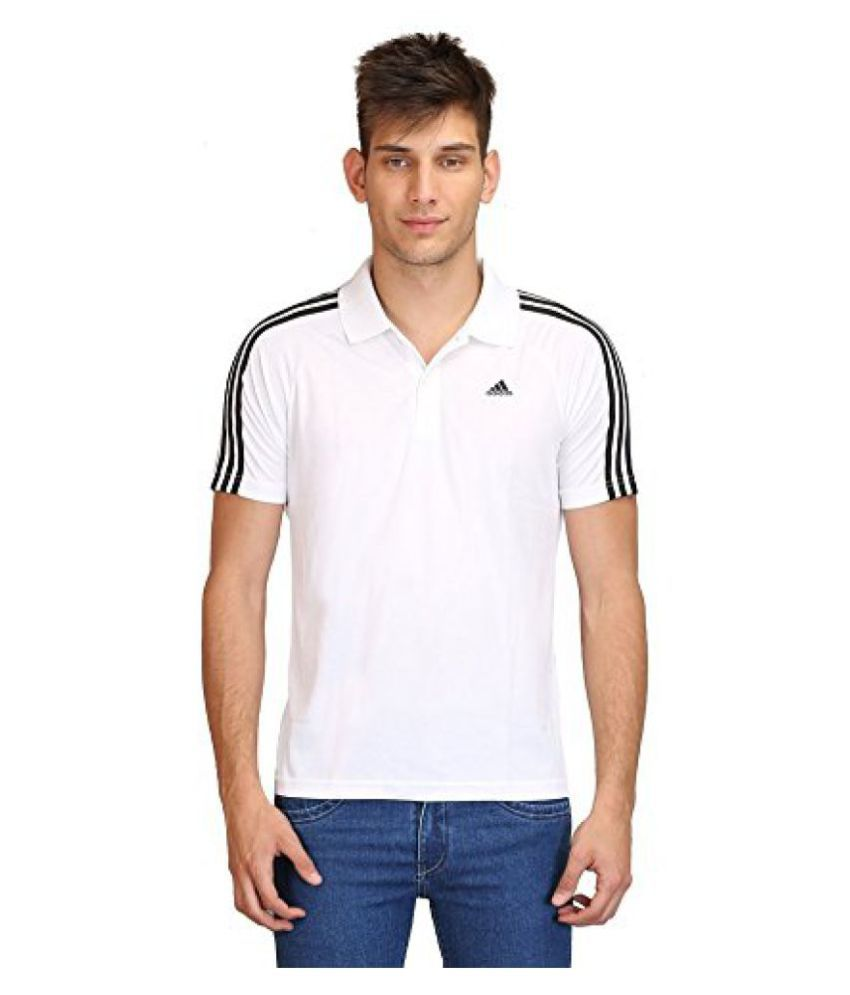 Adidas Mens Synthetic Polo Shirts