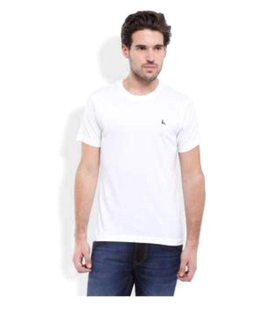 Holly Shite White Round T-Shirt