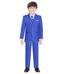Jeet Blue Silk Suit