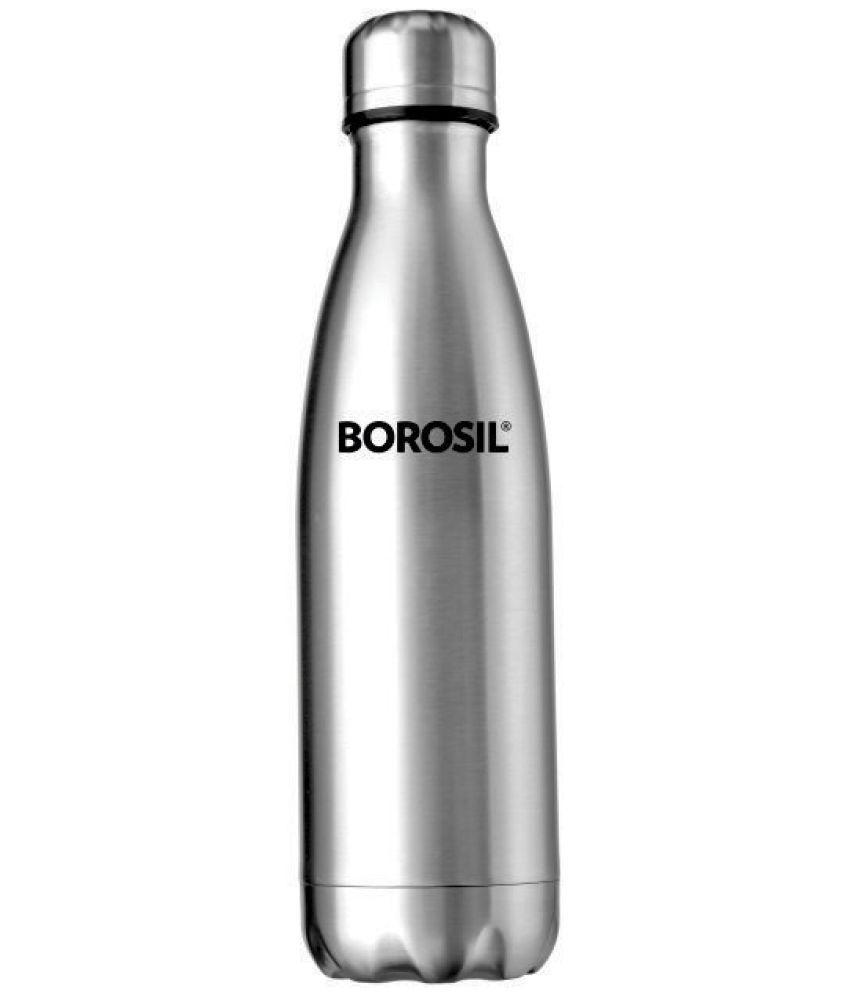 Borosil Hydra Bolt Bottle Steel Flask - 750
