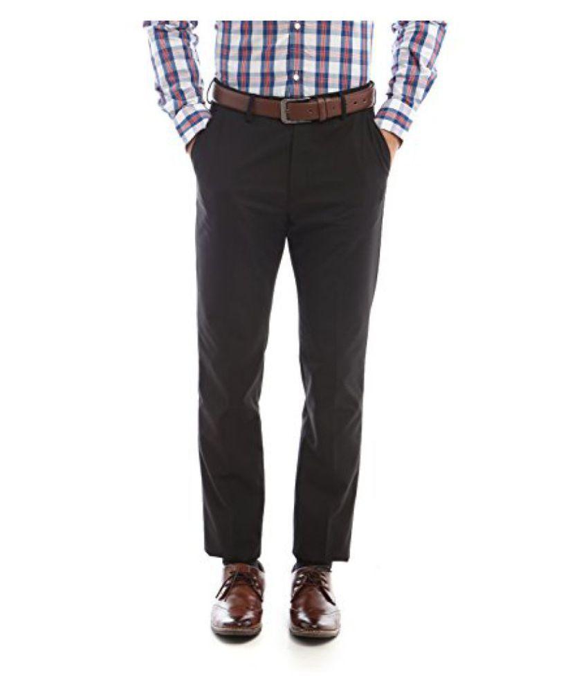 Peter England Slim Fit Pants _ PTF61500180_28_ Grey