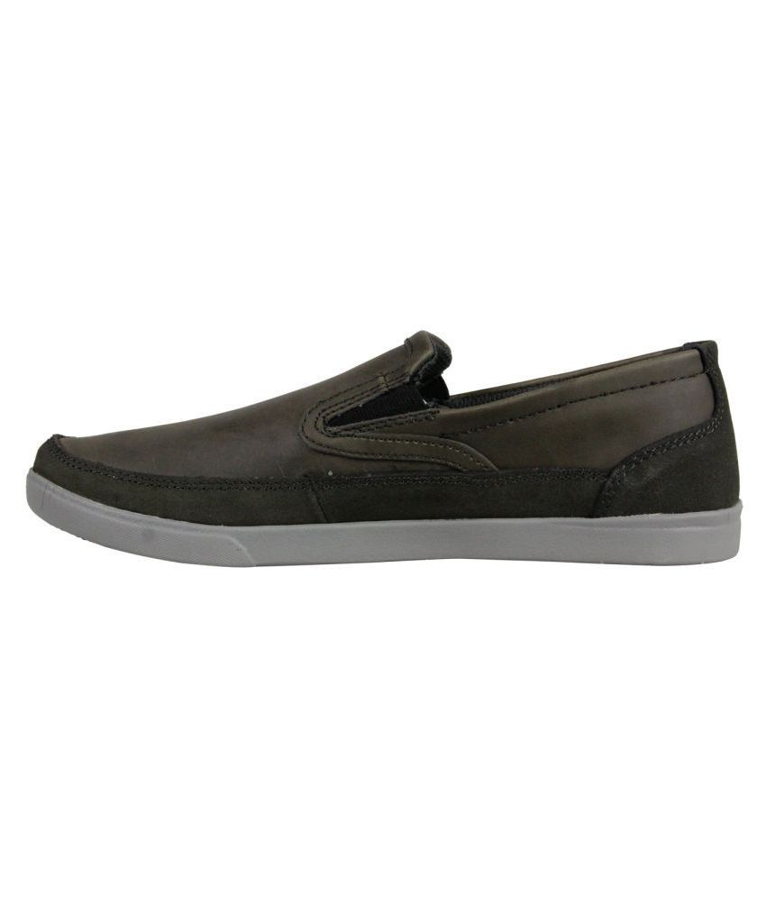 7dfbeb2ee584 ... Skechers Glides Calculous Mens Black Leather Casual Dress Oxfords Shoes  ...