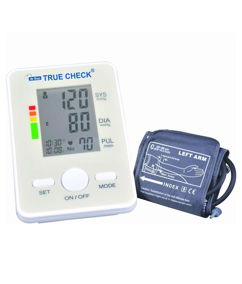 Dr Diaz Digital Blood Pressure Monitor