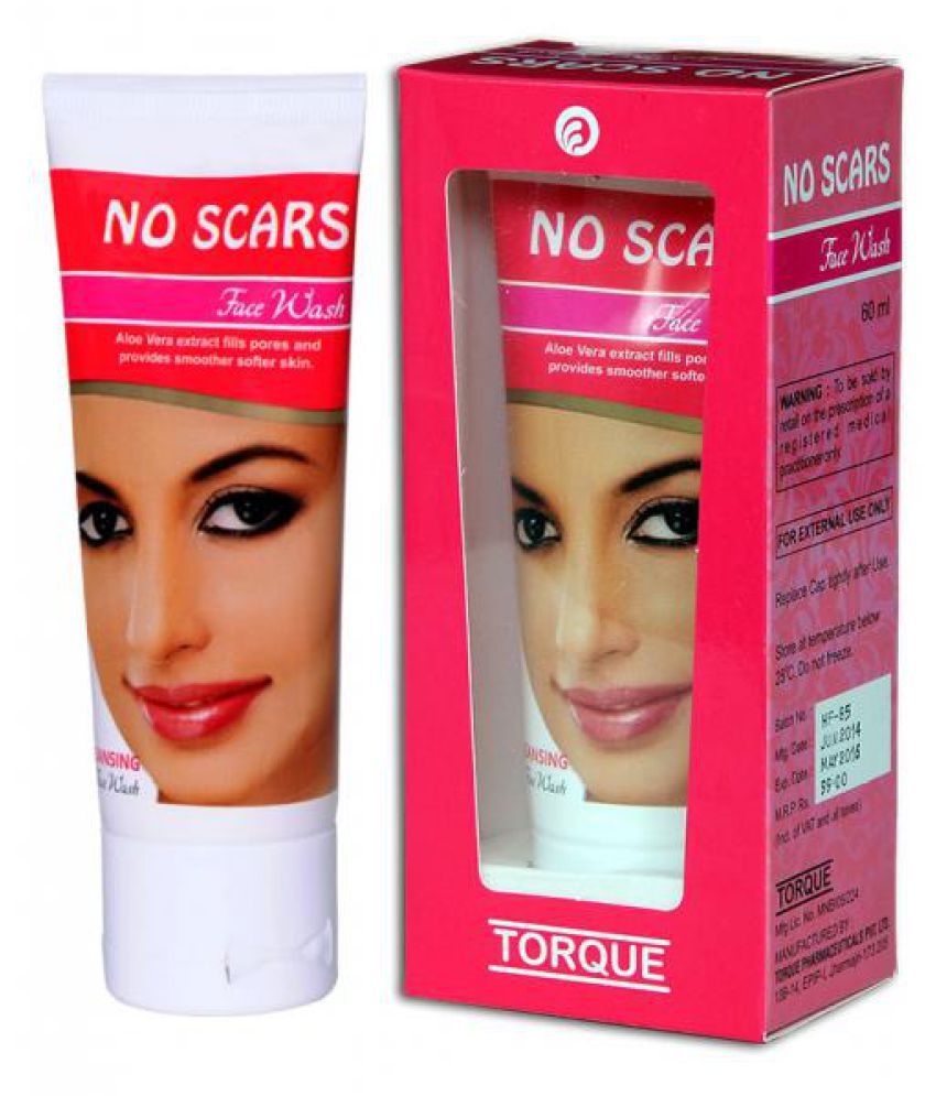 No Scars Cream 20 Gm Cleansing Face Wash 60 Ml For Scars Marks