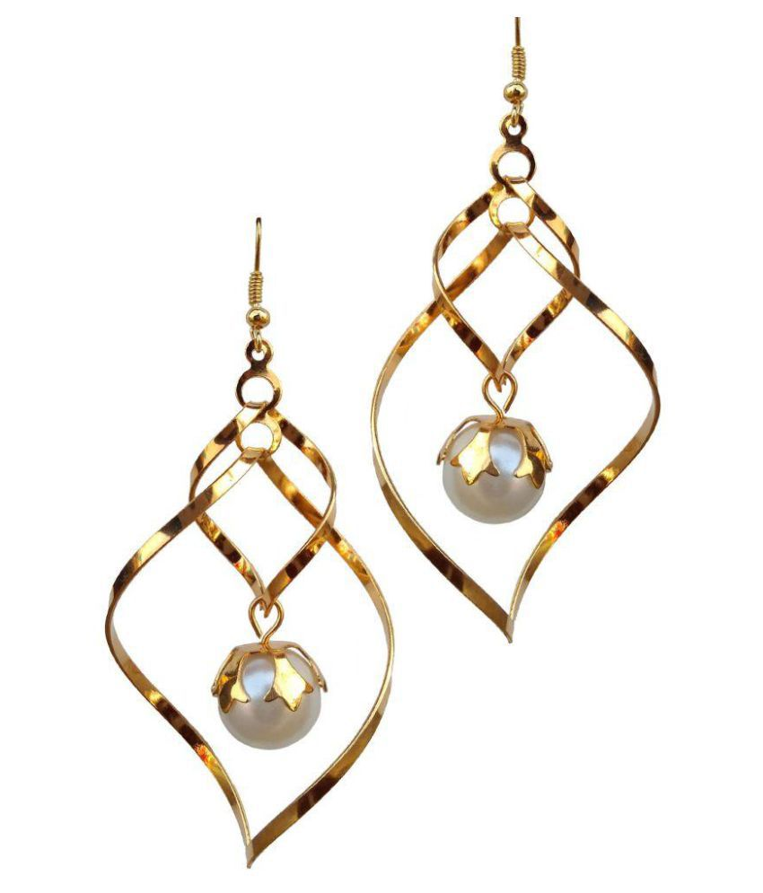 Fida Art Golden Earring