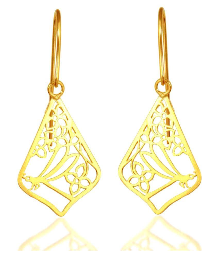 Hoop Yellow Earrings