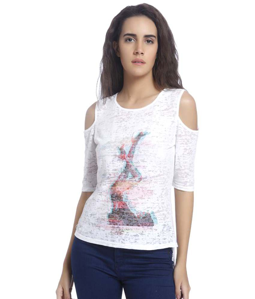 buy vero moda t shirts online at best prices in india. Black Bedroom Furniture Sets. Home Design Ideas