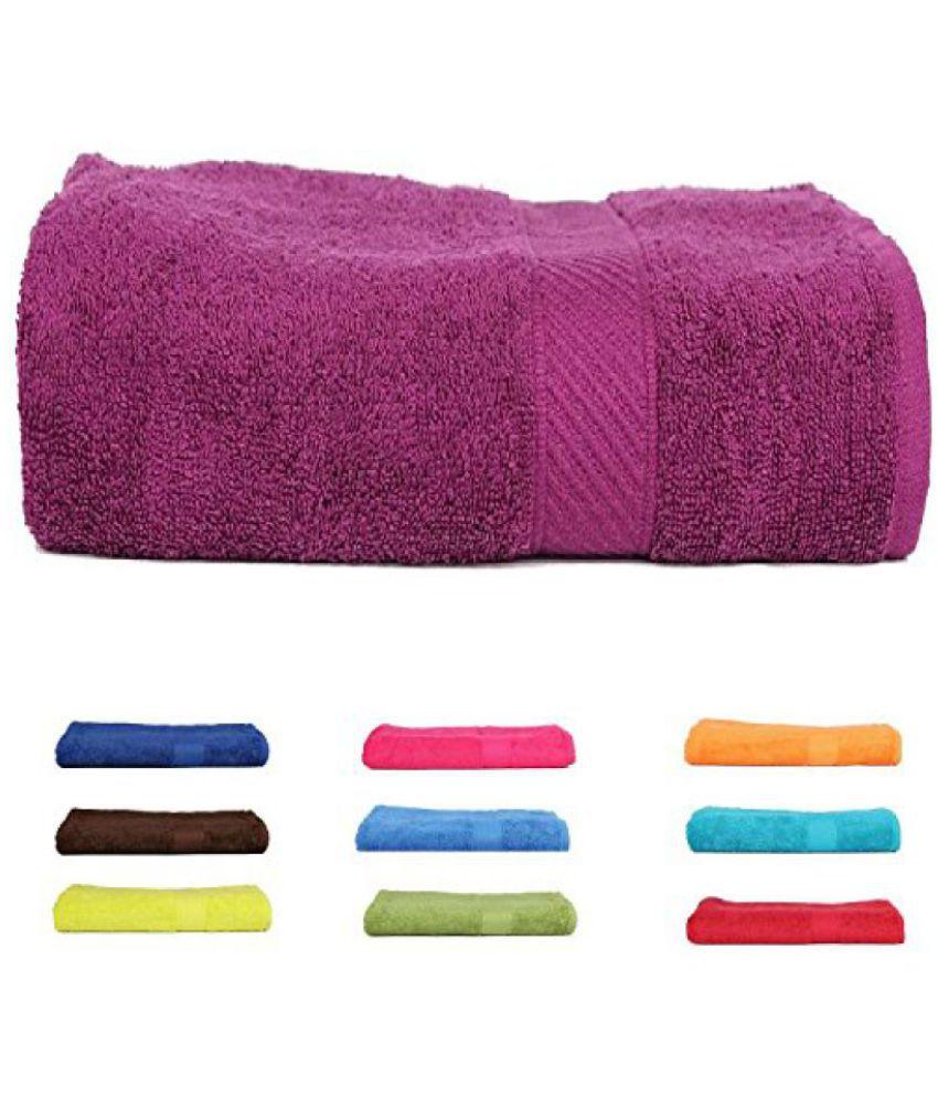 Trident 400 GSM Kids Bath Towel- Purple