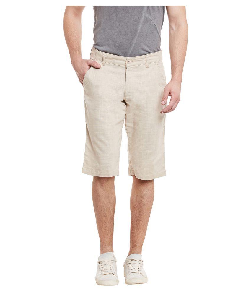 Canary London Khaki Shorts