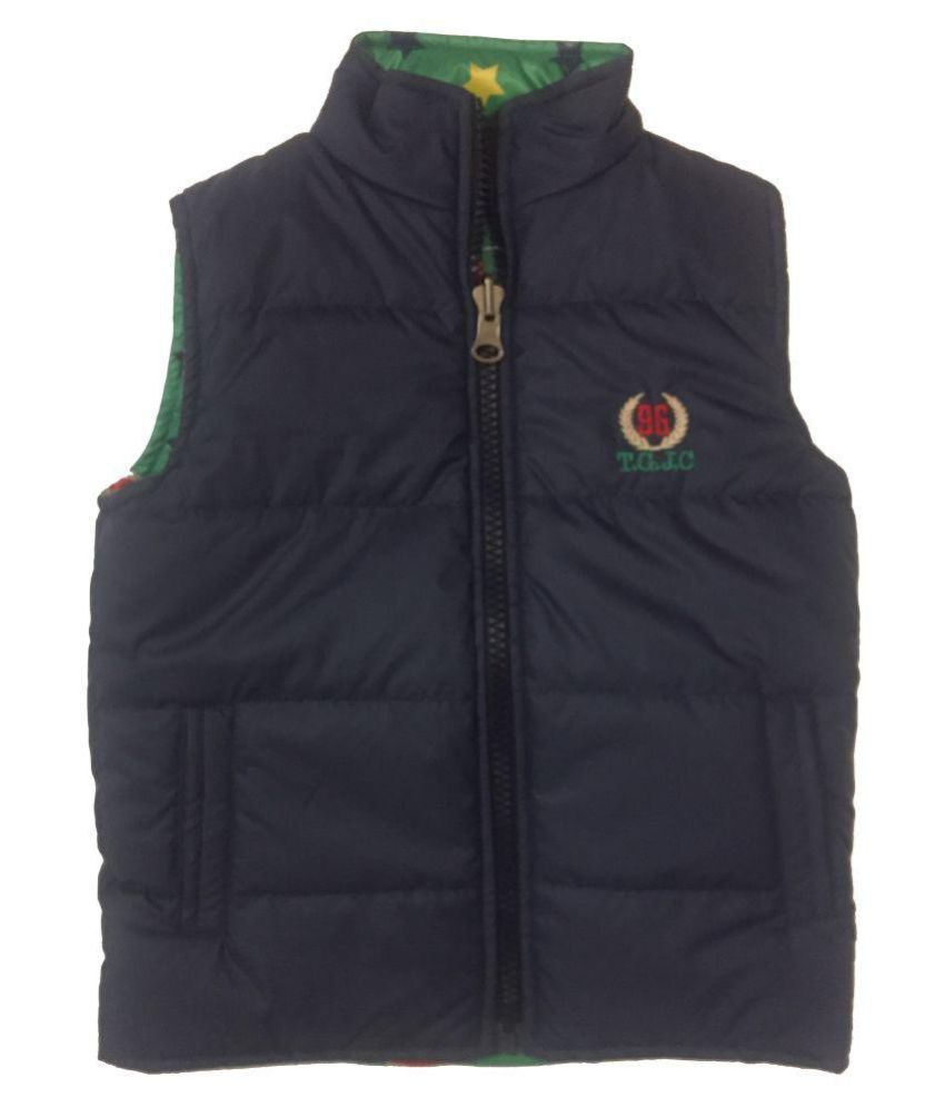 Top Gear Reversible Blue Quilted Jacket
