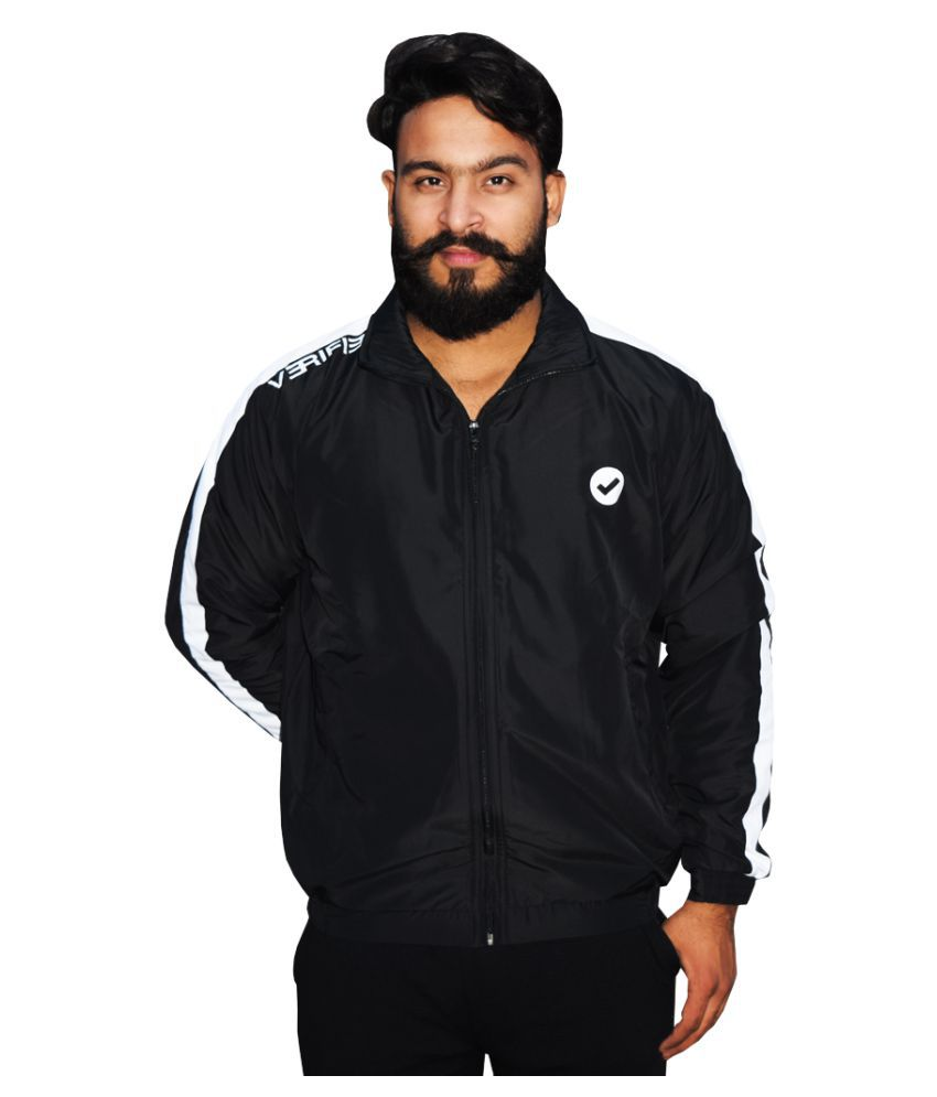 Verified Track Suit Upper Black Size S