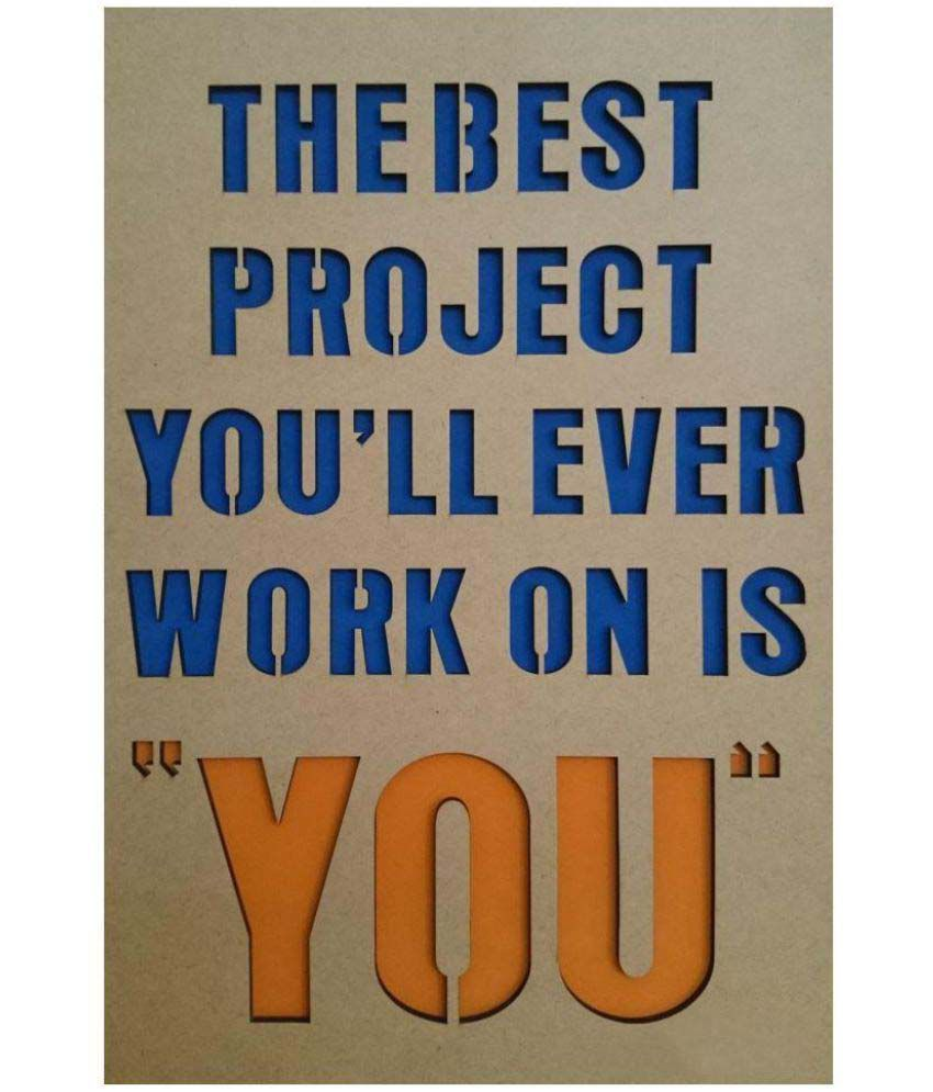 Inspirational Quotes On Wood: Meriindia Wood Motivational Inspirational Quotes