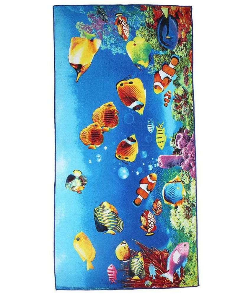 Belomoda Multi Blends Bath Towels 1 Fish theme Printed Bath Towel