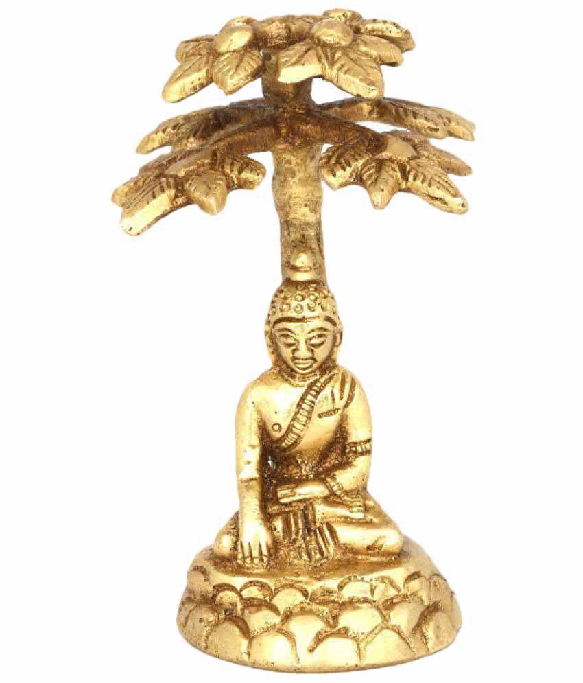 Heirloom Quality Buddha Brass Idol