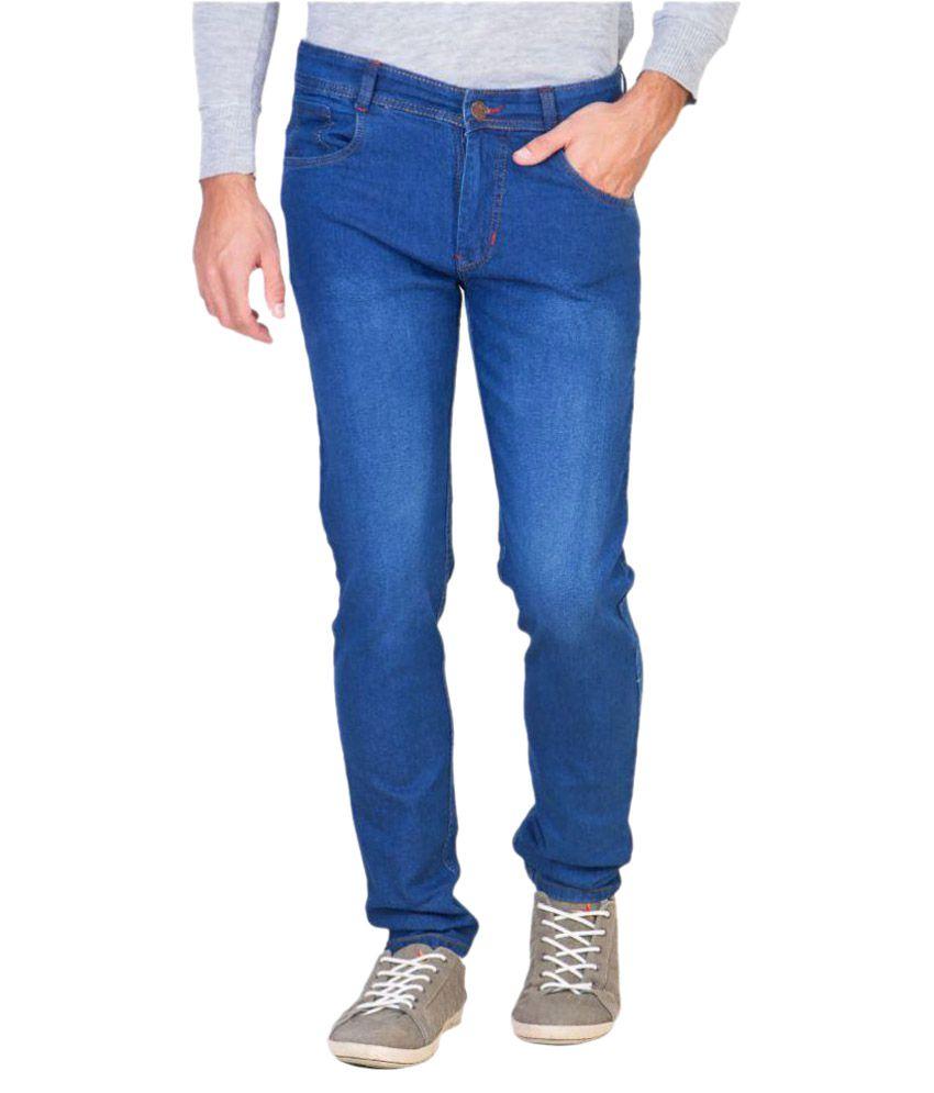 Maxxone Blue Slim Jeans