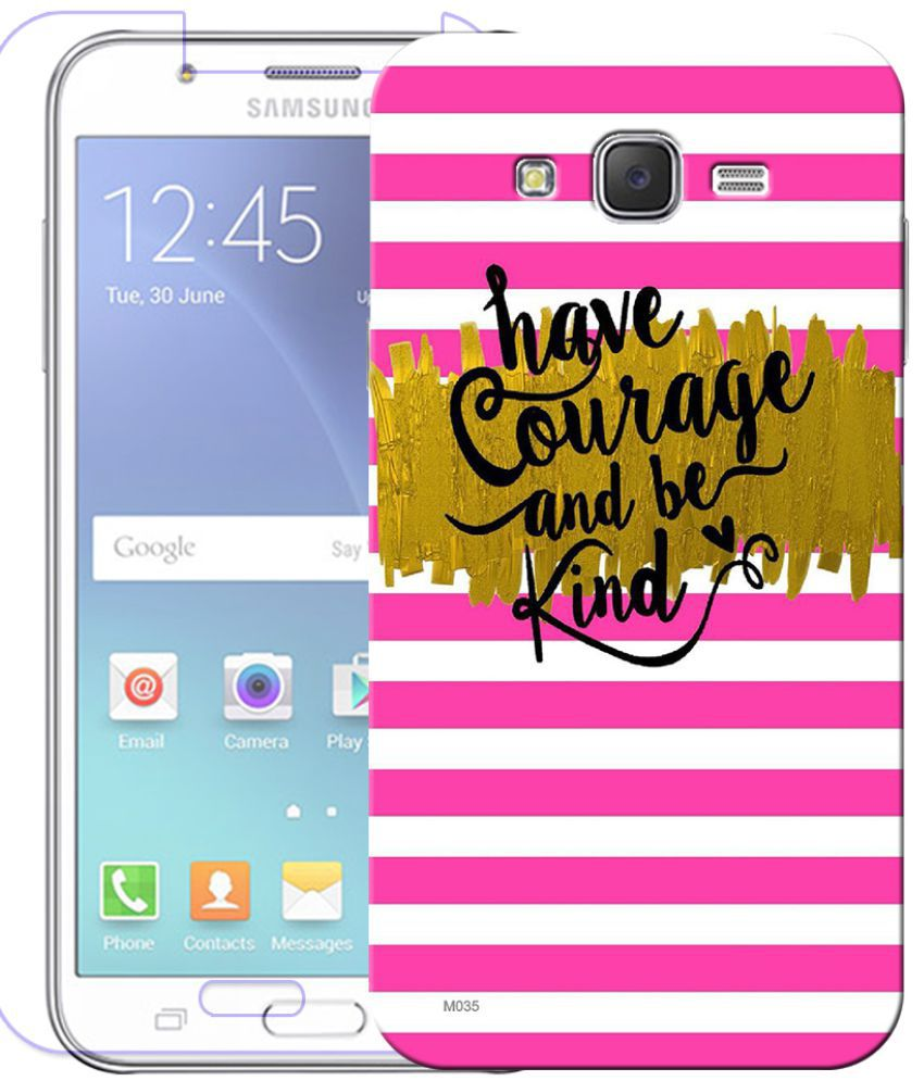 Samsung Galaxy J3 2016 Cover Combo by Indiashopers