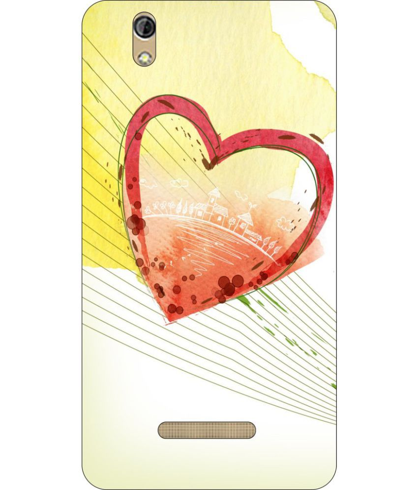 Gionee P5W Printed Cover By Go Hooked