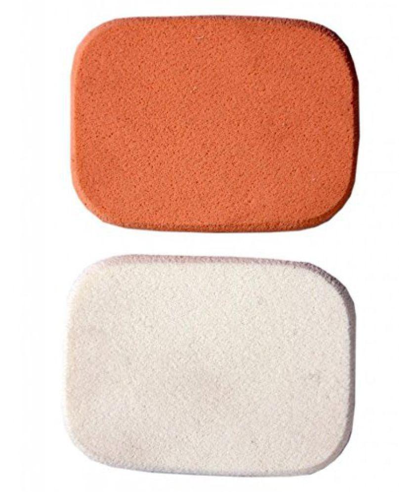 BARE ESSENTIALS COMPACT FOUNDATION SPONGES (2PCS) Facial Sponge 2 gm