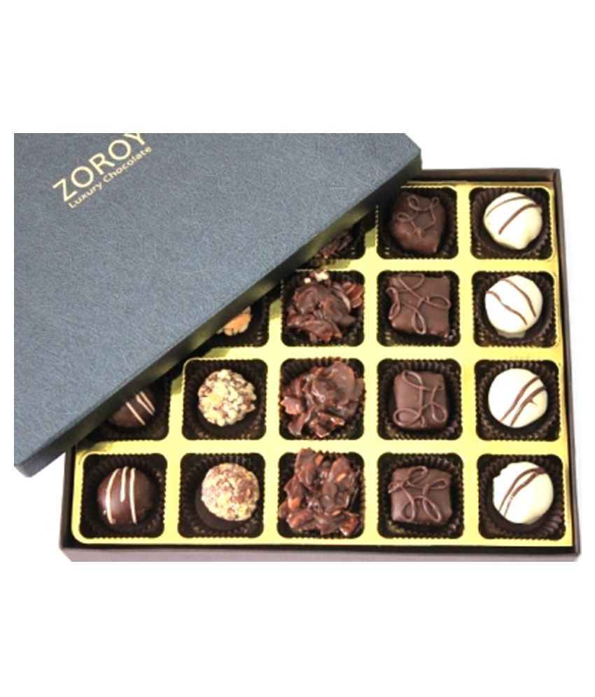 ZOROY LUXURY CHOCOLATE Boxed Designs Chocolate Box 240 gm