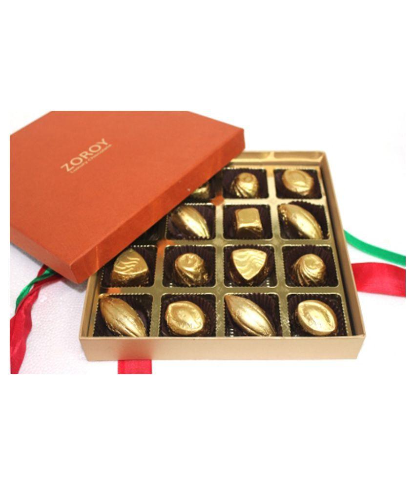 ZOROY LUXURY CHOCOLATE Boxed Designs Chocolate Box 170 gm: Buy ...