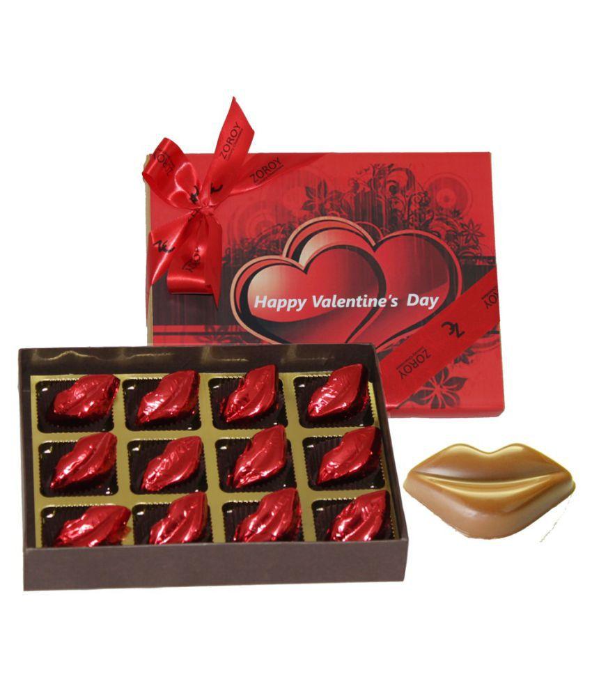 Zoroy Luxury Chocolate Valentine's Day Chocolate Box Valentine chocolate gift 120 gm