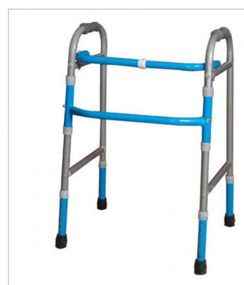 SR BIOTECH FOLDING WALKER (IRON) Aluminium Walking Sticks
