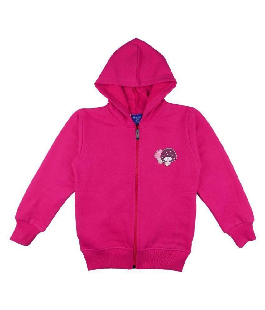 Sweet Angel Pink Girls Sweatshirt