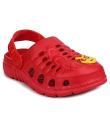 11e Red Clogs