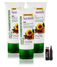 Nutriglow Anti Pigmentation Night Creame Night Cream 65 Gm Pack Of 3