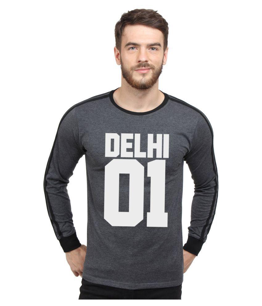 SayItLoud Black Round T-Shirt