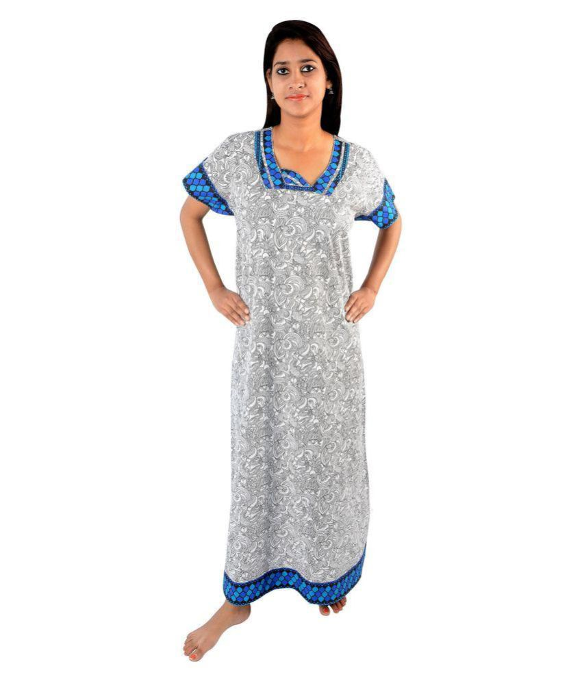 Ayona Cotton Nighty & Night Gowns