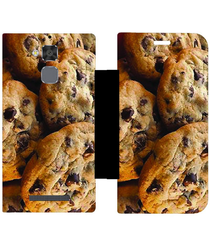 Asus ZenFone 3 Max ZC520TL Flip Cover by Skintice - Multi