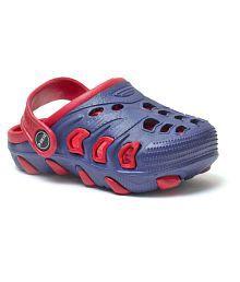 Phedarus Navy Blue Clogs for Boys