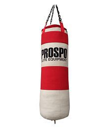 Prospo Red Synthetic Boxing Heavy Bags