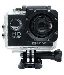 Zakk 1080P Action Camera with Accessories