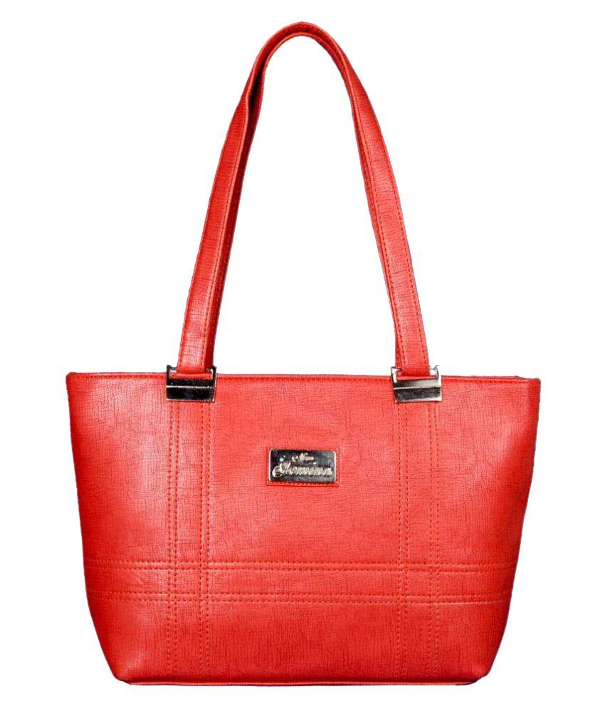 SV Creations PeachPuff P.U. Shoulder Bag