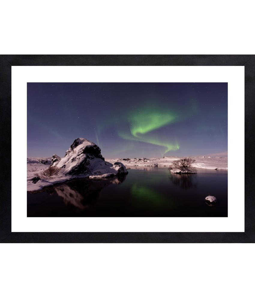 Craftsfest Photography of Scenery Canvas Painting With Frame Single Piece