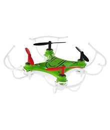 Kiditos Green Gyro Flying Nano RC Quadcopter Drone