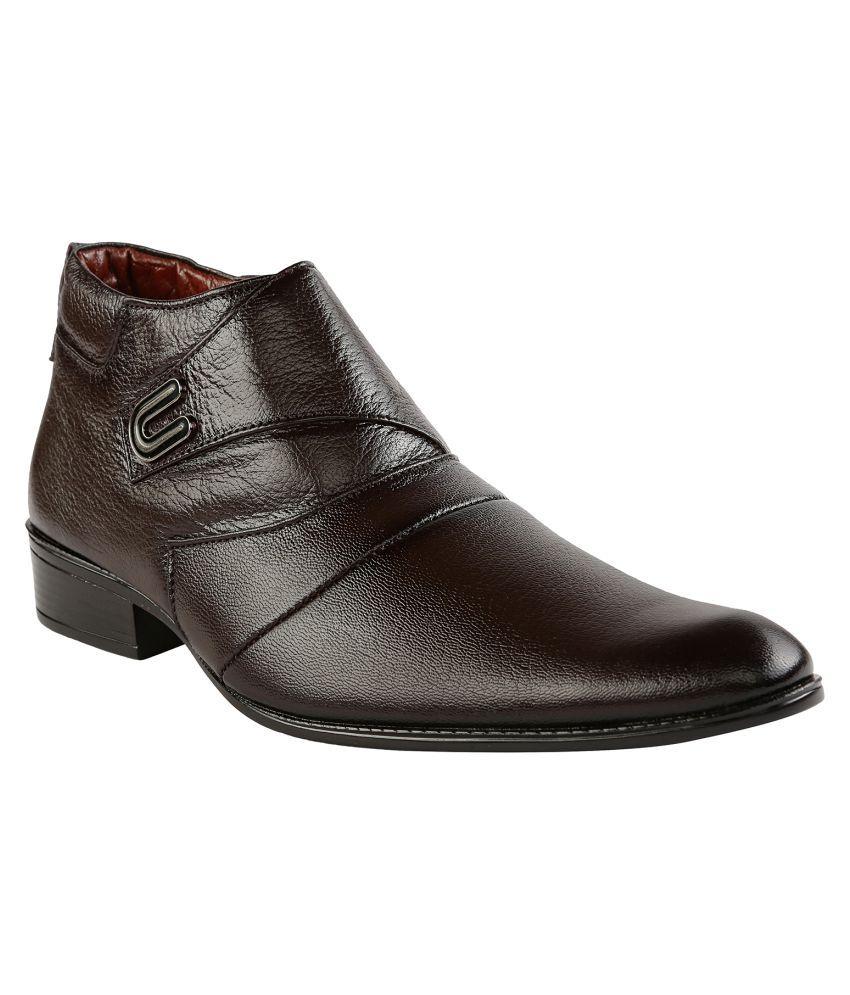 Shoe Bazar Brown Formal Boot