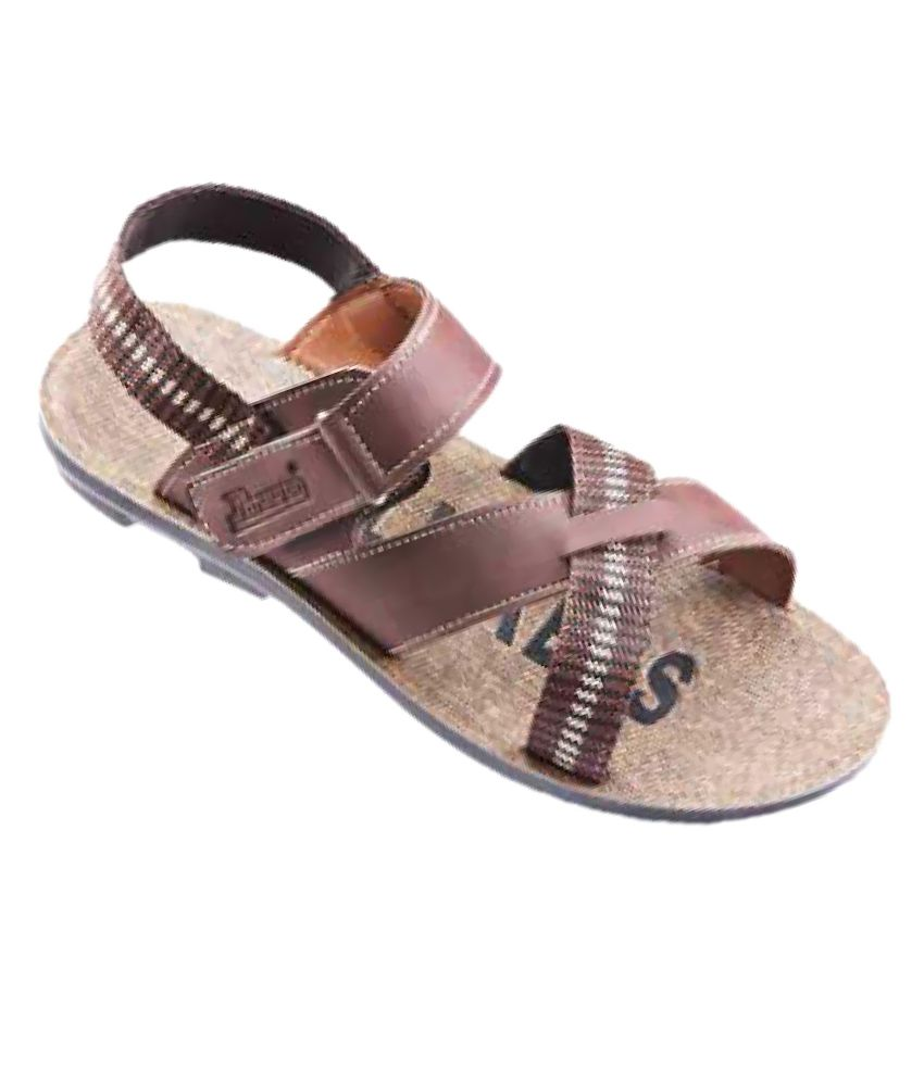 1170bd9b8a39 Paragon Slickers 8840 Brown Floater Sandals - Buy Paragon Slickers 8840  Brown Floater Sandals Online at Best Prices in India on Snapdeal