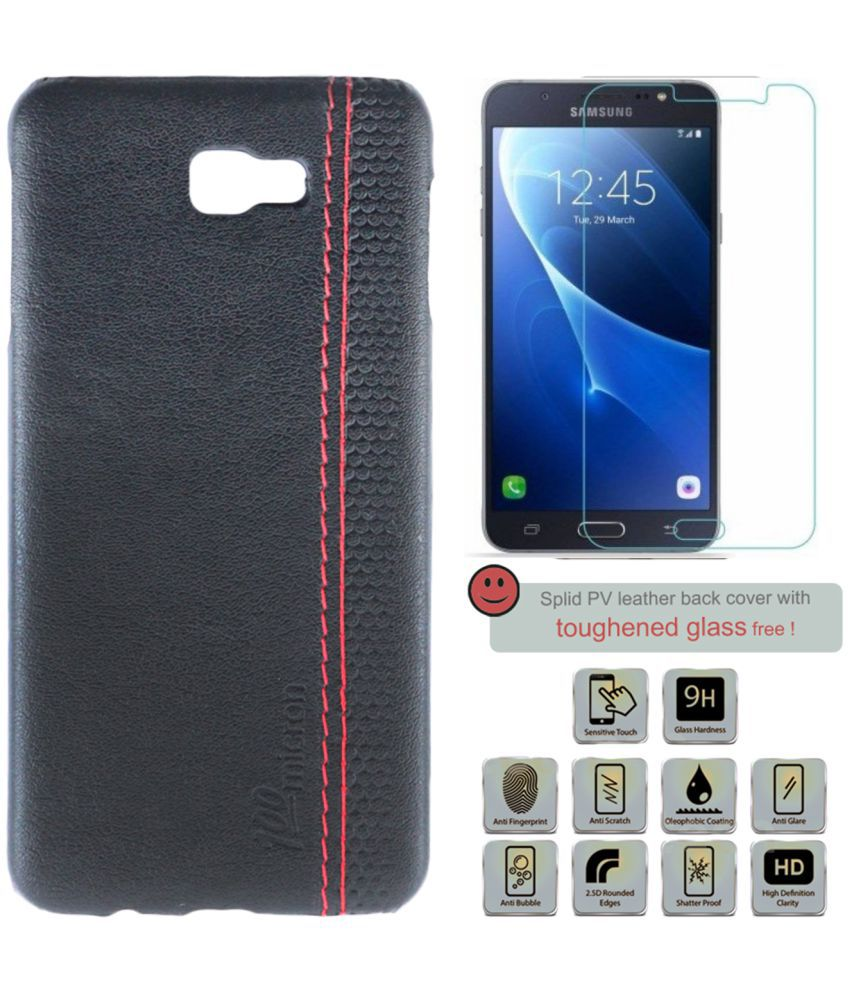 Samsung Galaxy J7 Prime Cover Combo by 100micron