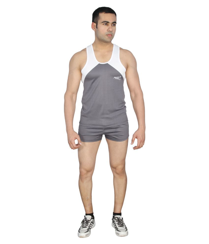 RS Sports Grey Active Wear