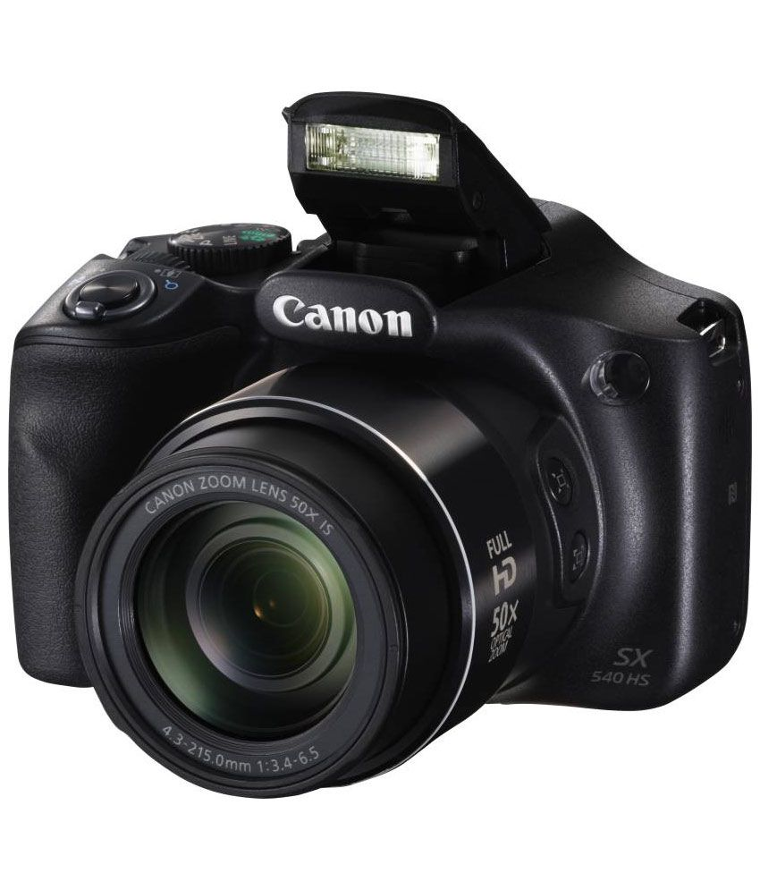 Canon PowerShot SX540 20.3 MP HS Digital Camera (Black) Price in ...