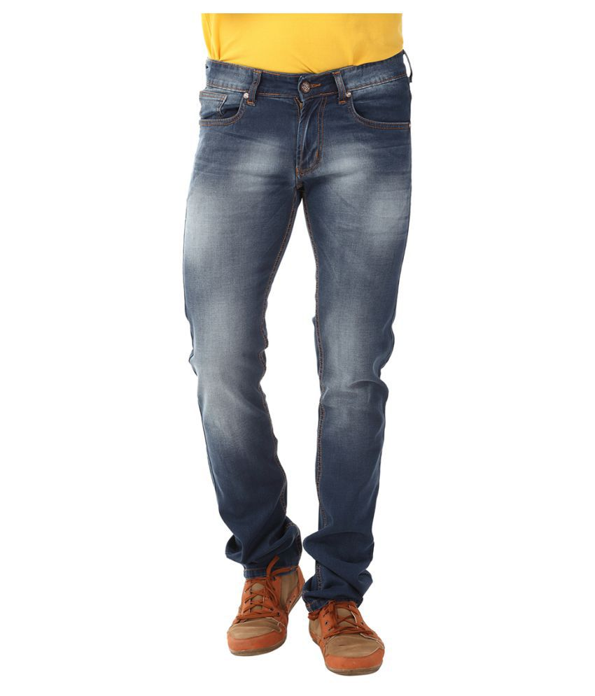 Yoo Blue Regular Fit Jeans