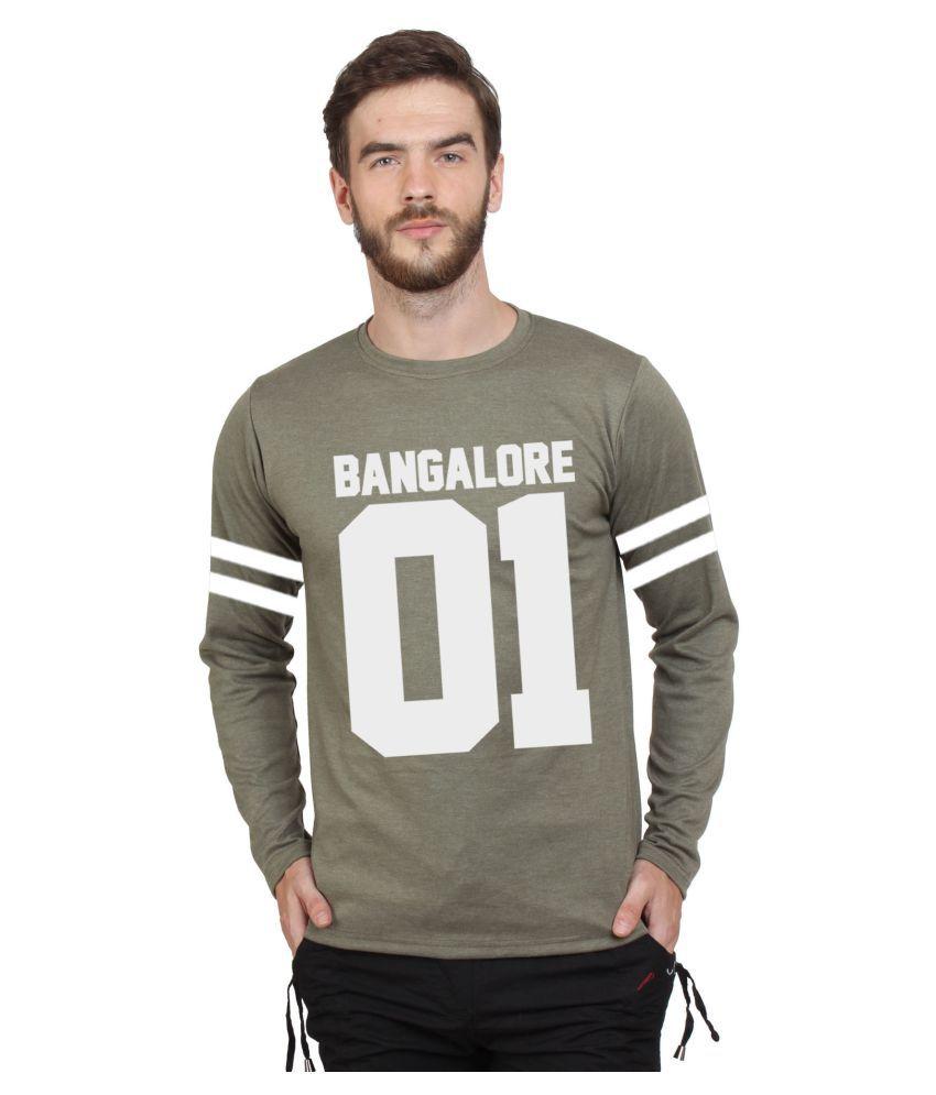 SayItLoud Green Round T-Shirt