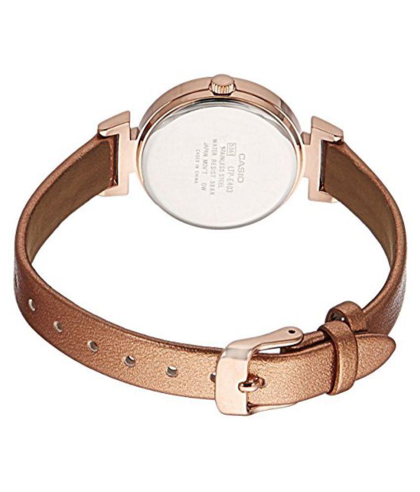 7c3a3af52cf ... Casio Enticer Analog Rose Gold Dial Womens Watch-LTP-E403PL-9A1VDF ...
