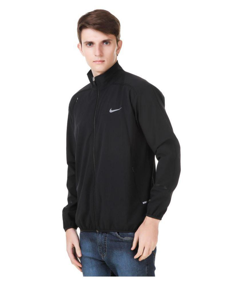 cec9f24999 70% OFF Nike Black Polyester Terry Jacket Rs. 1399 Rs. 4599 ...