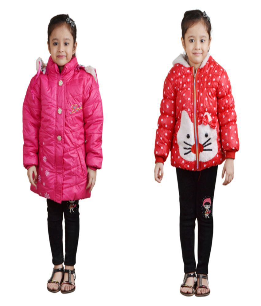 Crazeis Multicolor Nylon Jackets Pack of 2