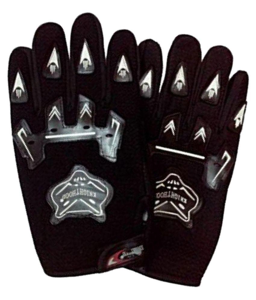 Black riding gloves - Ezip Black Riding Gloves