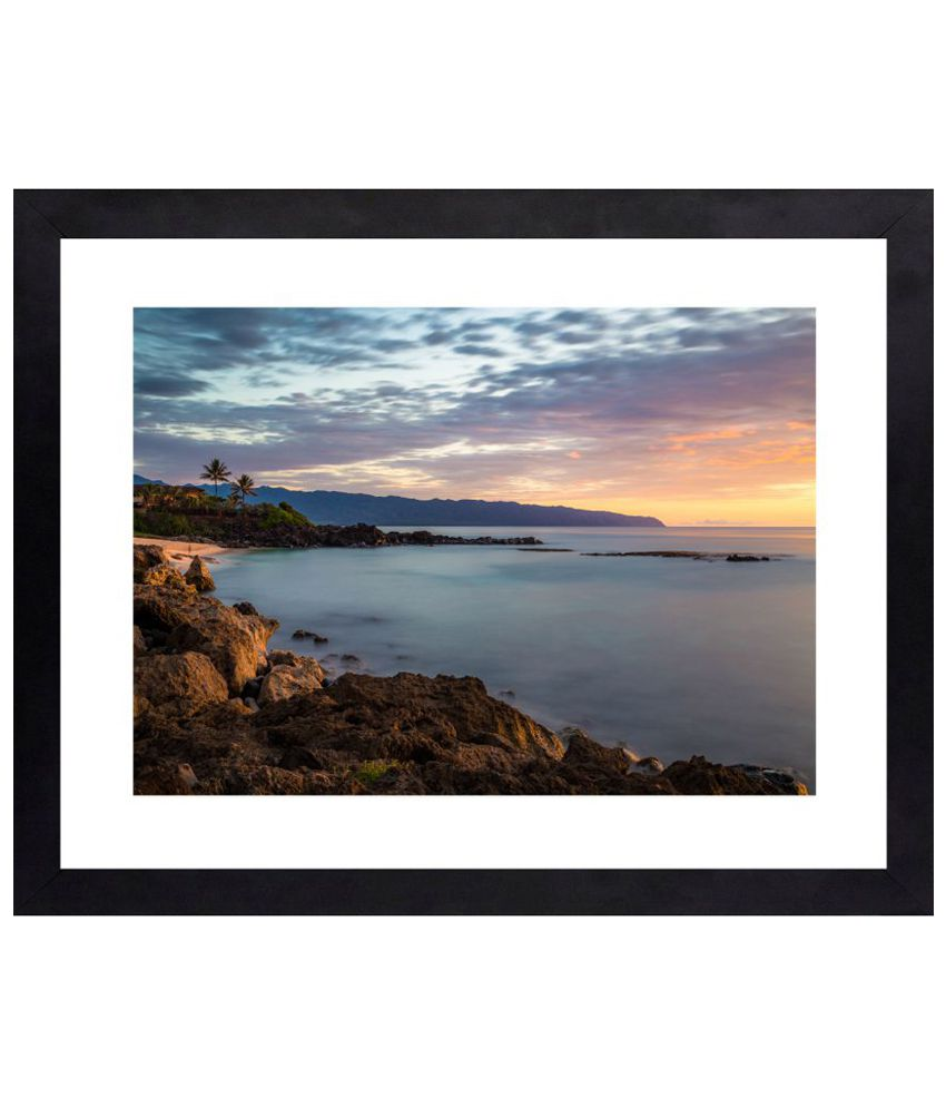 Craftsfest Amazing Photography of Landscape Canvas Painting With Frame Single Piece